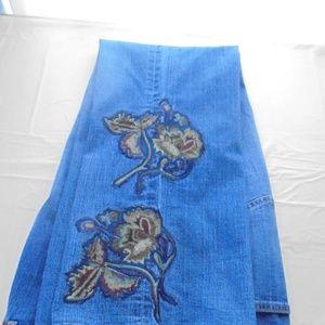 Coldwater Creek Embellished Jeans